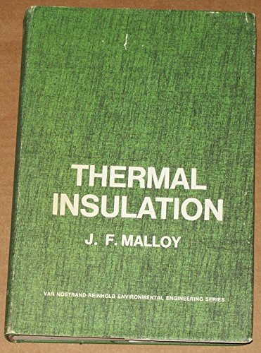 9780442156206: Thermal Insulation