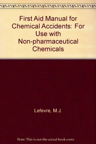 9780442204907: First Aid Manual for Chemical Accidents