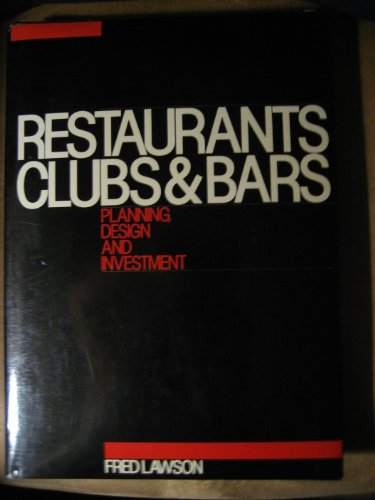 9780442204952: Restaurants, Clubs and Bars
