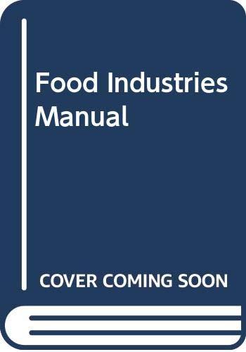 9780442206741: Food Industries Manual