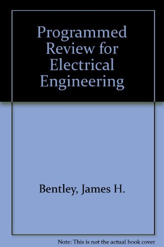 9780442206932: Programmed Review for Electrical Engineering