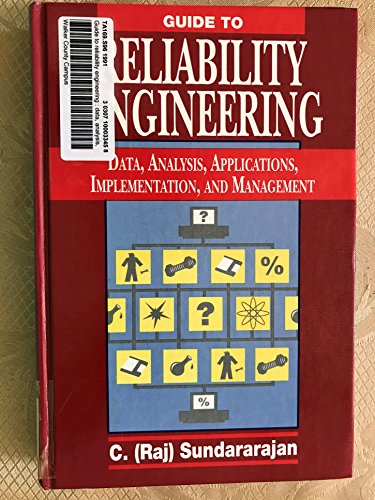 9780442207229: Guide to Reliability Engineering: Data, Analysis, Applications, Implementation, and Management