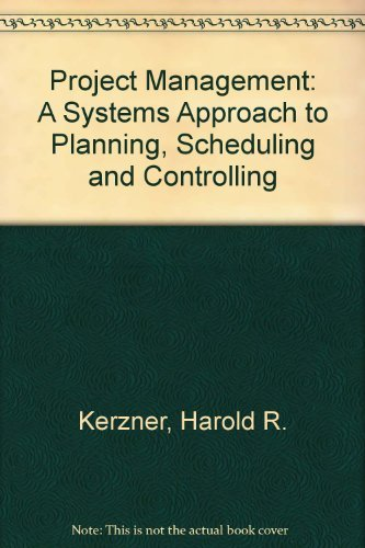 9780442207519: Project Management: A Systems Approach to Planning, Scheduling, and Controlling