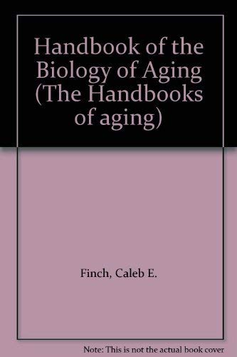 9780442207960: Handbook of the Biology of Aging