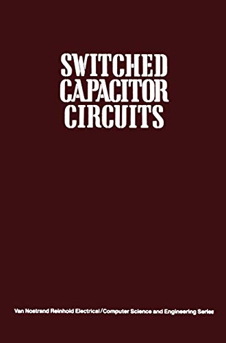 9780442208738: Switched Capacitor Circuits (Handbooks of Aging)