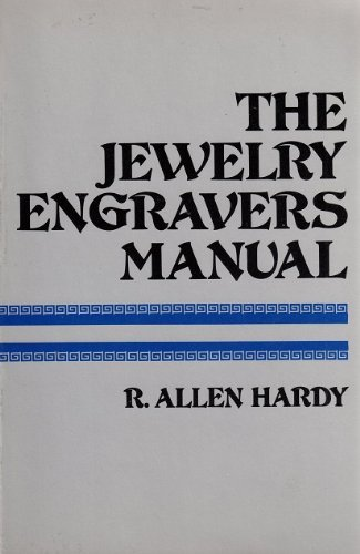 9780442209650: Jewelry Engraver's Manual