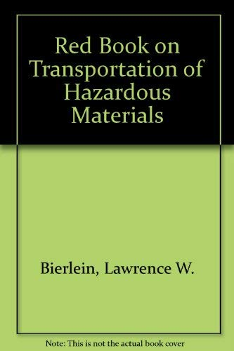 9780442210441: Red Book on Transportation of Hazardous Materials