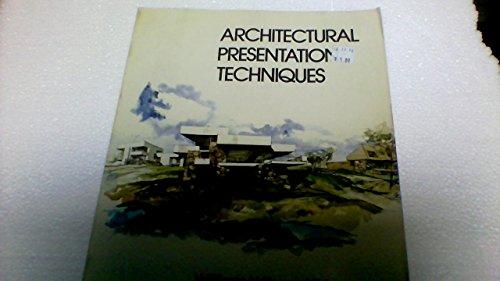 9780442210748: Architectural Presentation Techniques