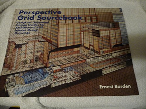 9780442211325: Perspective Grid Sourcebook: Computer Generated Tracing Guides for Architectural and Interior Design Drawings
