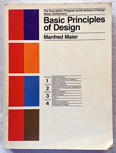 9780442212063: Basic Principles of Design: The Foundation Program at the School of Design Basel, Switzerland