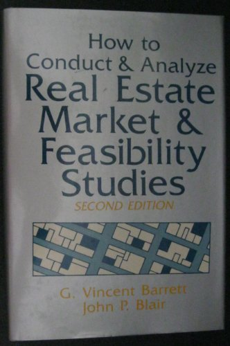 9780442212209: How to Conduct and Analyze Real Estate Market and Feasibility Studies