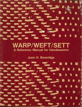 9780442213275: Warp/Weft/Sett