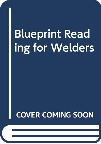 9780442213589: Blueprint Reading for Welders