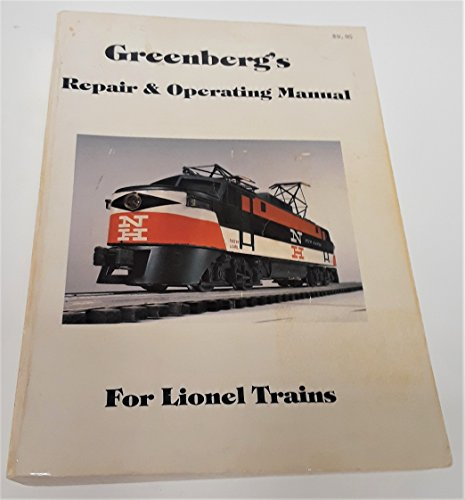 9780442213633: Repair and Operating Manual for Lionel Trains