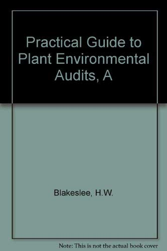9780442214210: Practical Guide to Plant Environmental Audits