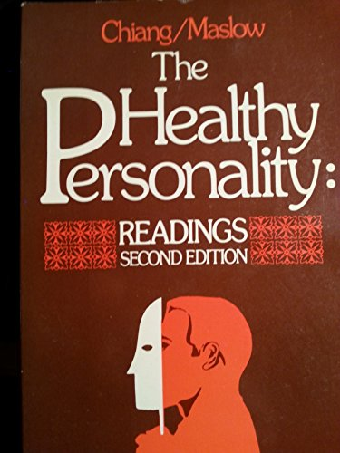 9780442215460: Healthy Personality