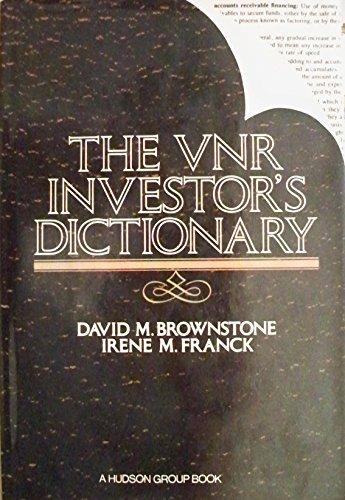 Investor's Dictionary: Van Nostrand Reinhold
