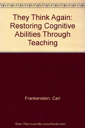 9780442216467: They Think Again: Restoring Cognitive Abilities Through Teaching