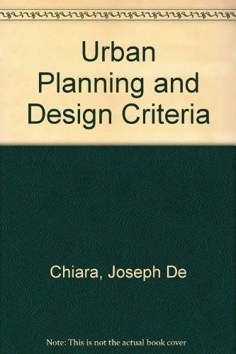 9780442220556: Urban Planning and Design Criteria