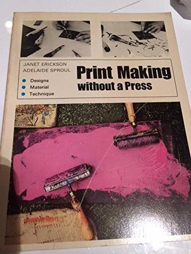 9780442223236: Print Making Without a Press