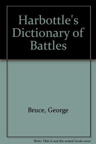 9780442223359: Harbottle's Dictionary of Battles