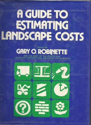A Guide to Estimating Landscape Costs