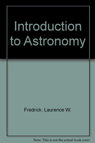 9780442224226: Introduction to Astronomy