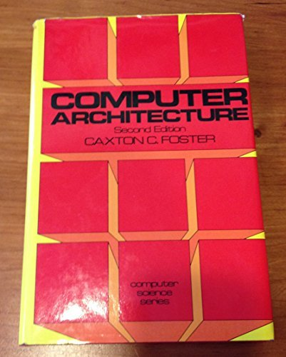 9780442224349: Computer Architecture (Computer science series)