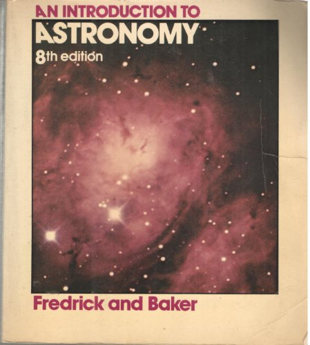 9780442224363: Introduction to Astronomy