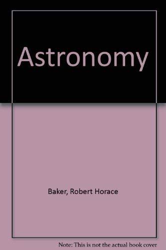 9780442224448: Astronomy