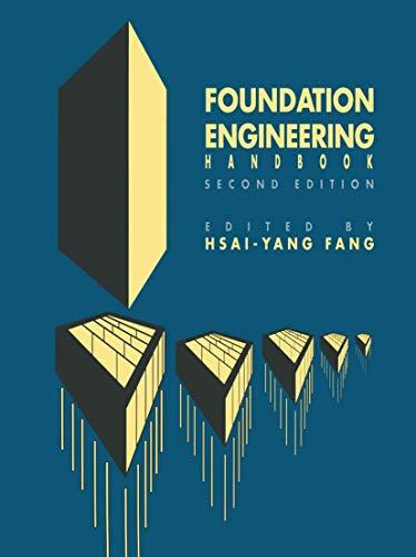 9780442224875: FOUNDATION ENGINEERING HANDBOOK