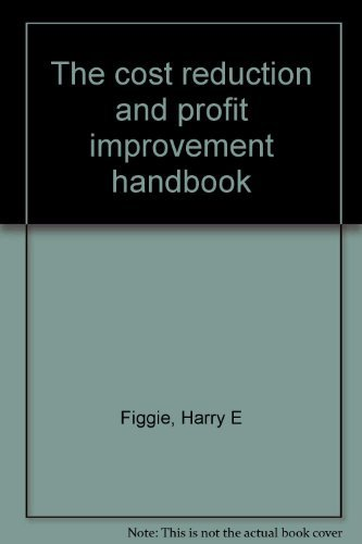 9780442225841: The cost reduction and profit improvement handbook