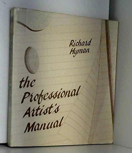 9780442226008: Professional Artist's Manual