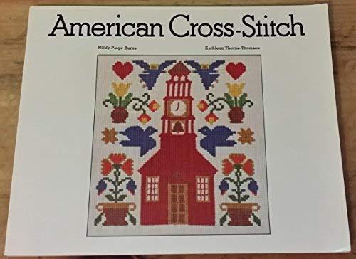 9780442226121: American Cross-stitch