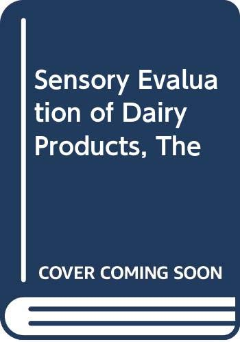 9780442226855: The sensory evaluation of dairy products