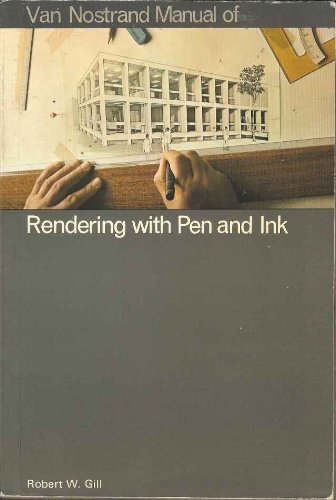 9780442226947: V N R Manual of Rendering With Pen and Ink