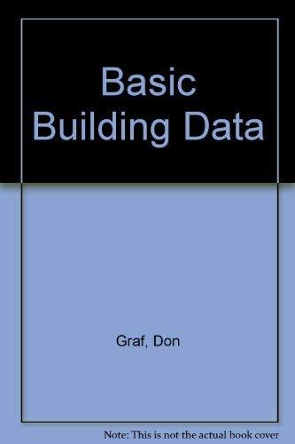 9780442228002: Basic Building Data