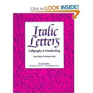 9780442228064: Italic Letters