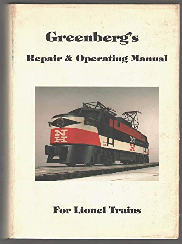 9780442228446: Greenberg's Repair & Operating Manual for Lionel trains