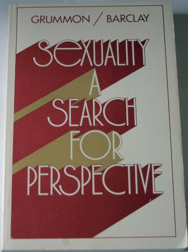9780442228781: Sexuality: A Search for Perspective