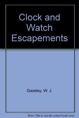 9780442228927: Clock and Watch Escapements