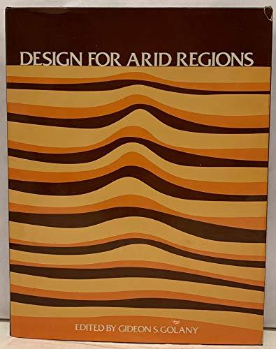 9780442229245: Design for Arid Regions