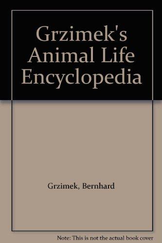 Grzimek's Animal Life Encyclopedia Volume 10 Mammals 1: Grzimek, Bernhard