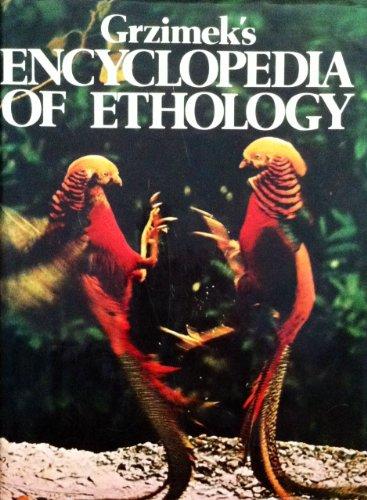 9780442229467: Grzimek's Encyclopedia of Ethology (English and German Edition)