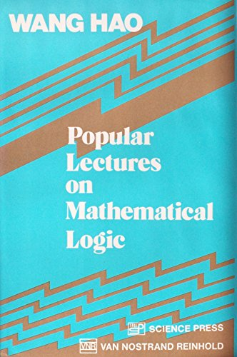 9780442231095: Popular Lectures on Mathematical Logic