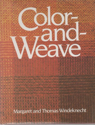 9780442233297: Colour and Weave
