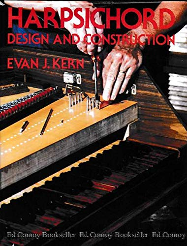 9780442233488: Harpsichord Design and Construction