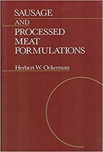 9780442234362: Sausage and Processed Meat Formulations