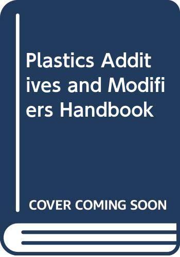 9780442234508: Plastics Additives and Modifiers Handbook