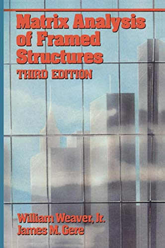 9780442234850: Matrix Analysis of Framed Structures (VNR Structural Engineering)